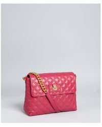Marc Jacobs Berry Quilted Leather Large Single Shoulder Bag - Lyst