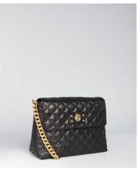 Marc Jacobs Black Quilted Leather Large Single Shoulder Bag - Lyst