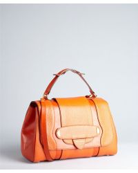 Marc Jacobs Orange Leather Thompson Doctor Bag - Lyst