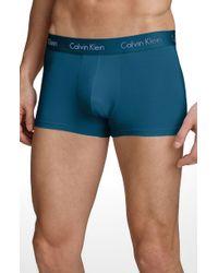 Calvin Klein Micro Modal Trunks - Lyst