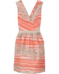 Giambattista Valli Printed Silk Organza Dress - Lyst