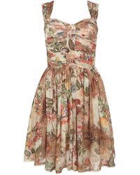 AllSaints Porcelain Dress - Brown