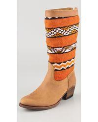 Cobra Society Alcazar Boots brown - Lyst
