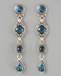 Konstantino Fourdrop Dangle Earrings - Lyst