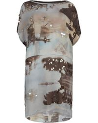 AllSaints Temple Dress - Lyst