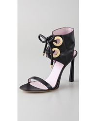 Viktor & Rolf - Lace Up High Heel Sandals - Lyst