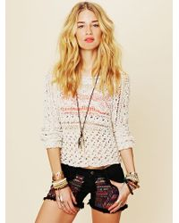 Free People Marigold Pullover - Natural