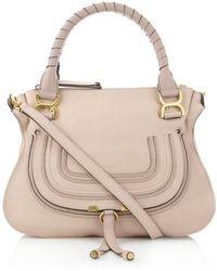 Chloé Small Marcie Shoulder Bag - Lyst