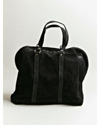 Guidi - Reverse Horse Leather Bag - Lyst