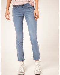 Levi's Levis Curve Id Bold Curve Ankle Skinny Jeans - Lyst