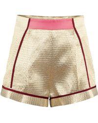 H&M Shorts - Metallic