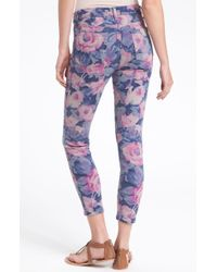 Joe's Jeans The High Water Fit Print Crop Skinny Jeans - Lyst