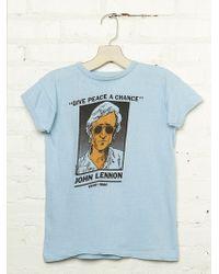 Free People Vintage John Lennon Graphic Tee - Lyst