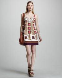 Milly Ella Beaded Cutout Dress - Lyst