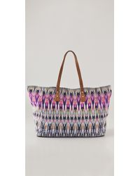 Twelfth Street Cynthia Vincent Cove Large Tote multicolor - Lyst