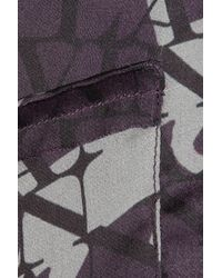 Lanvin - Catwalk Printed Silk Pyjama Set - Lyst