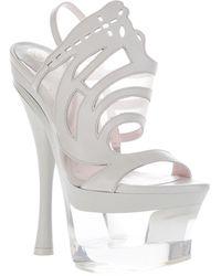 Versace Platform Sandal - Lyst