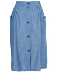 Sessun - Chambray Pocket Skirt - Lyst