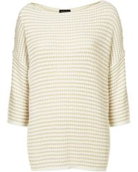 Topshop Knitted Plain Grill Jumper - Lyst