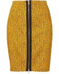 Topshop Grunge Ditsy Floral Skirt - Lyst