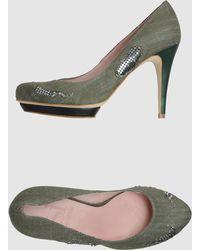 Si By Sinela - Platform Court Shoes - Lyst