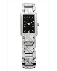 Burberry - Signature Etched Bracelet Watch - Lyst