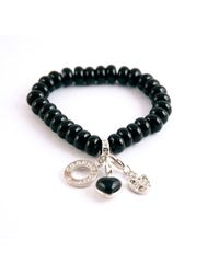 Charmology - Charmology Safe Travel Bead Bracelet with 3 Charms - Lyst
