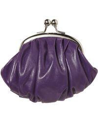 Jane Norman - Purple Clip Top Purse - Lyst