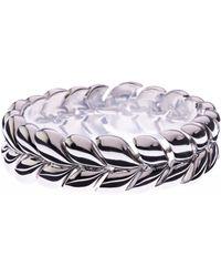 L.K.Bennett - Cable Knit Bracelet - Lyst