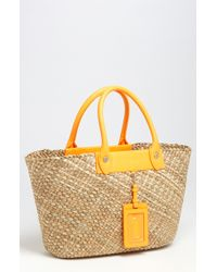 Marc By Marc Jacobs Preppy Straw Tote brown - Lyst
