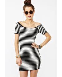 Nasty Gal Drew Stripe Dress - Lyst