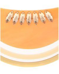 Tatty Devine | Large Melon Cantaloupe Necklace | Lyst