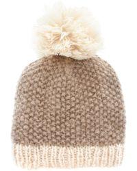 ASOS - Asos Oversized Bobble Hat - Lyst