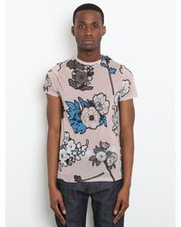 Christopher Kane Christopher Kane Okini Exclusive Mens Scrapbook Tshirt - Lyst