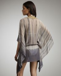 Debbie Katz - Nila Embroidered Coverup - Lyst