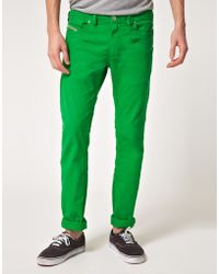 DIESEL Shioner Slim Jeans - Green