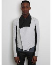 Gareth Pugh Gareth Pugh Mens Wrap Over Short Jacket - Lyst