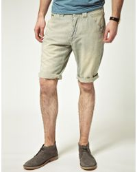 Pepe Jeans Pepe Jeans Heritage Cortez Worker Shorts - Blue