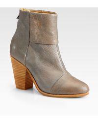 Rag & Bone Classic Newbury Leather Ankle Boots - Lyst