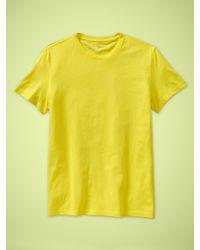 Gap - Essential Crewneck T-shirt - Lyst