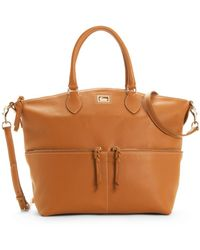 Dooney & Bourke Dillen Ii Large Pocket Satchel - Lyst