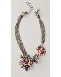 Erickson Beamon Confetti Necklace - Lyst