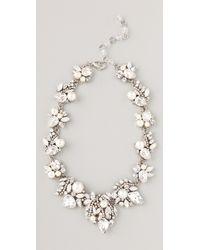 Erickson Beamon - White Wedding Necklace - Lyst