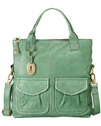 Fossil Modern Cargo Convertible Tote - Lyst