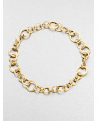 Marco Bicego Jaipur Link 18K Yellow Gold Necklace - Lyst