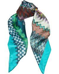 Missoni Stripe Print Scarf multicolor - Lyst