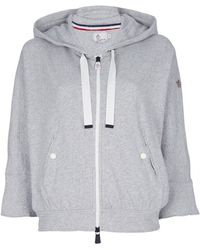 Moncler Grenoble - Hooded Top - Lyst