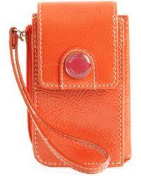 Nine West Spring Fling Zip Phone Case - Orange