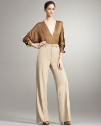 Ralph Lauren Collection Sheila Wideleg Wool Pants - Lyst
