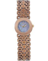 Carolee Womens Bronze Tone Stainless Steel Bracelet 22mm - Brown